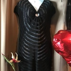 Other - Sexy crochet swimsuit coverup or top!! Like New!